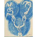 ‡John Banting (1902-1972) Untitled Signed, dated, and numbered John Banting/1932/7/100 (in ink,