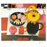 ‡Mary Fedden OBE, RA, RWA (195-2012) The Orange Mug Signed and numbered 485/500 Fedden (in pencil to