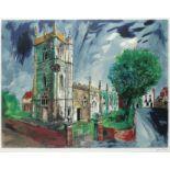 ‡John Piper CH (1903-1992) St Nicholas, Alcester (Levinson 383) Signed in pencil John Piper (in