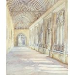 ‡Bernard Cecil Gotch (1876-1963) Old Cloister, Winchester College; School, Winchester College Two,