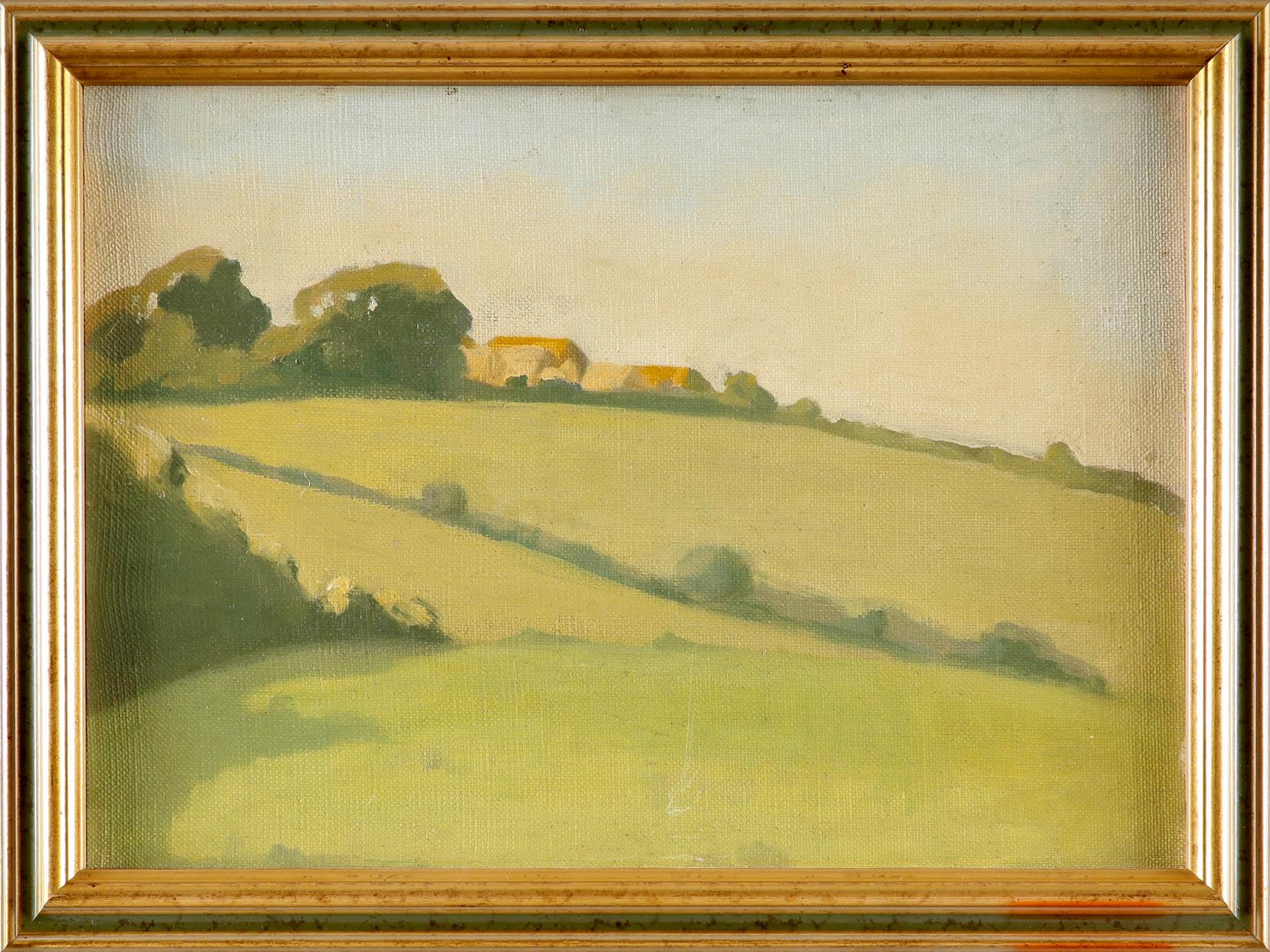 ‡James Durden (1878-1964) Evening sunlight Oil on canvasboard 24.2 x 34.2cm Provenance: The - Image 2 of 3