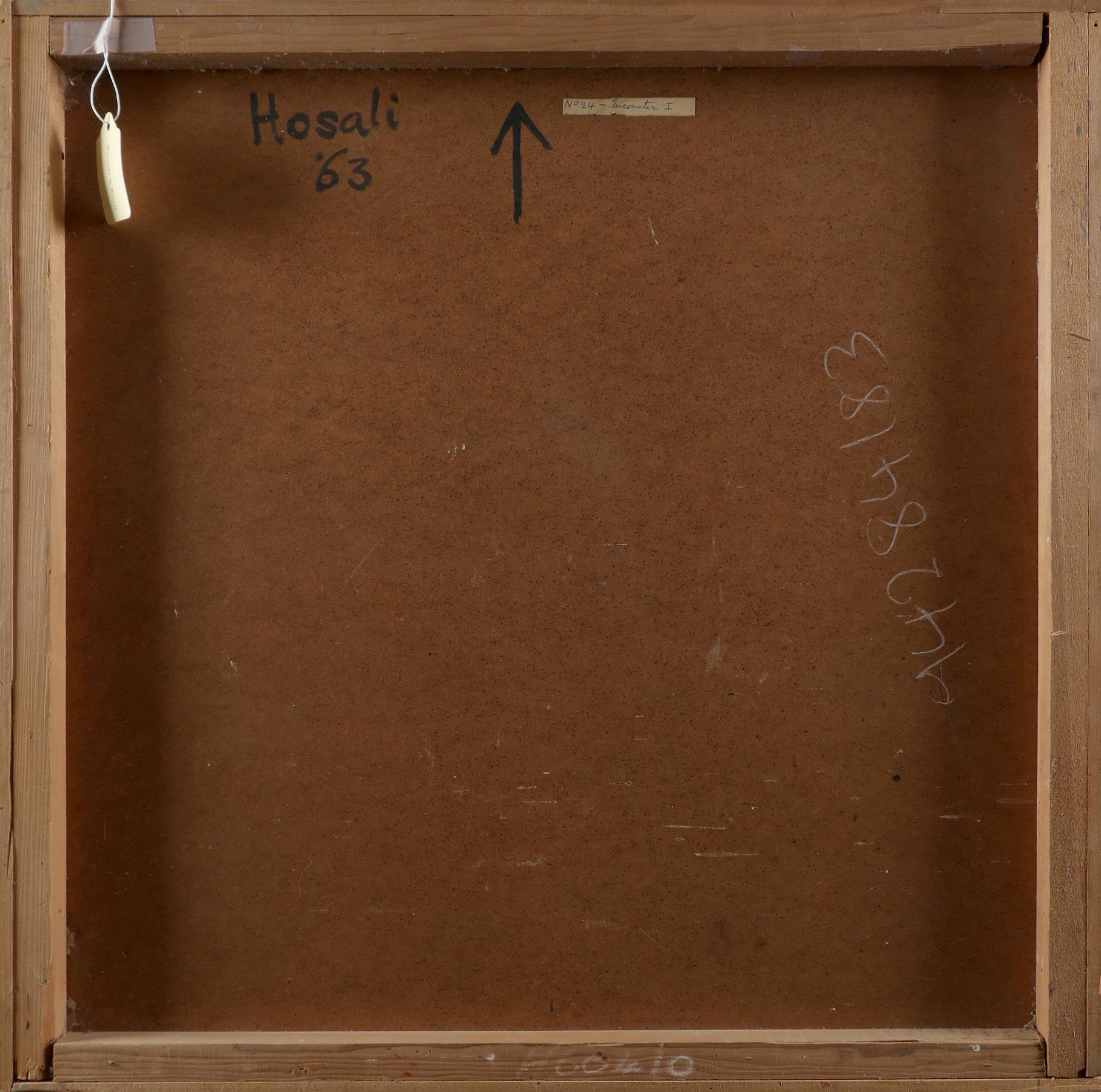 ‡Nina Hosali (1898-1987) Floating Forms; Encounter I; Two figures Three, one signed and dated Hosali - Image 7 of 9
