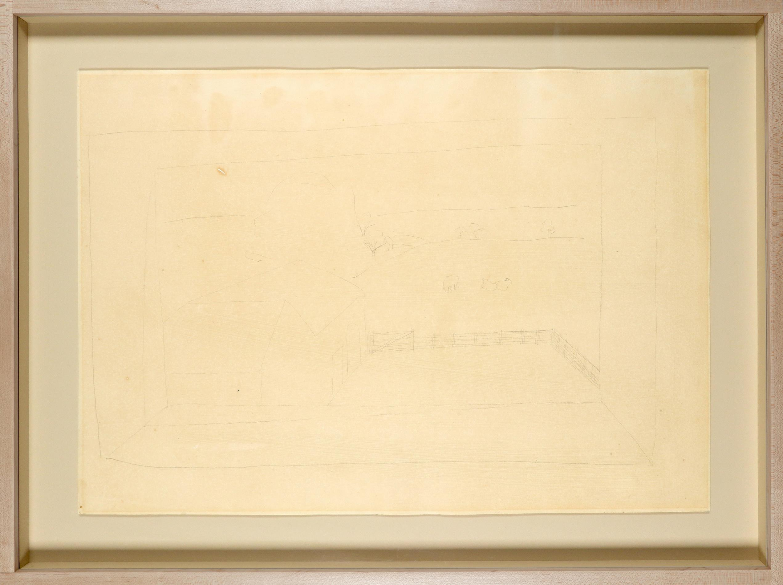 ‡Ben Nicholson OM (1894-1982) Banks Head, Cumberland Signed, dated and inscribed BANKSHEAD Ben - Image 2 of 3