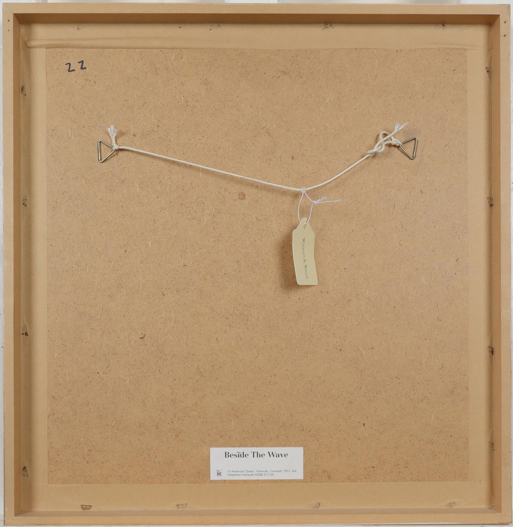 ‡Richard Tuff (b.1965) Abstract landscape Signed Richard Tuff. (lower left) Gouache 30 x 30cm - Image 3 of 3