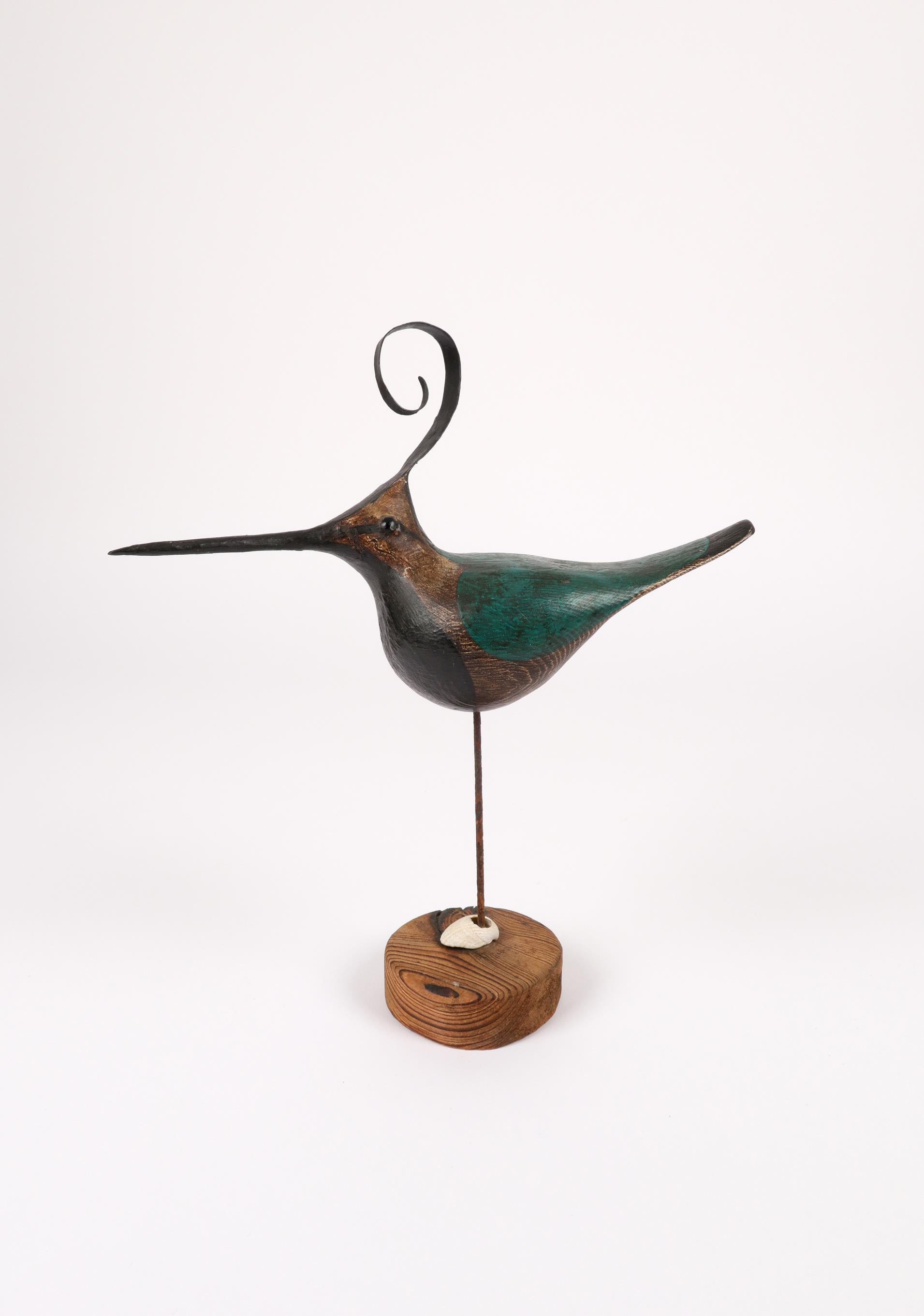 ‡Guy Taplin (b.1939) Lapwing Signed and inscribed LAPWING/GUY TAPLIN and with an incised drawing