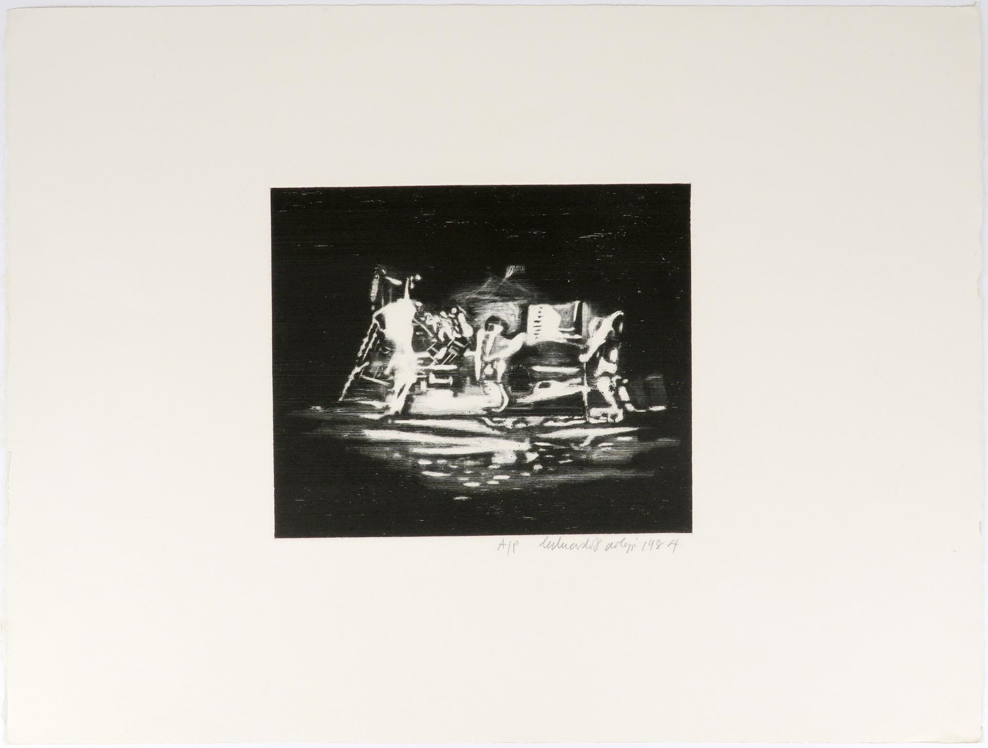 ‡Sir Eduardo Paolozzi CBE RA (Scottish 1924-2005) Study for Bruckner; On the Moon; Untitled Three, - Image 7 of 9