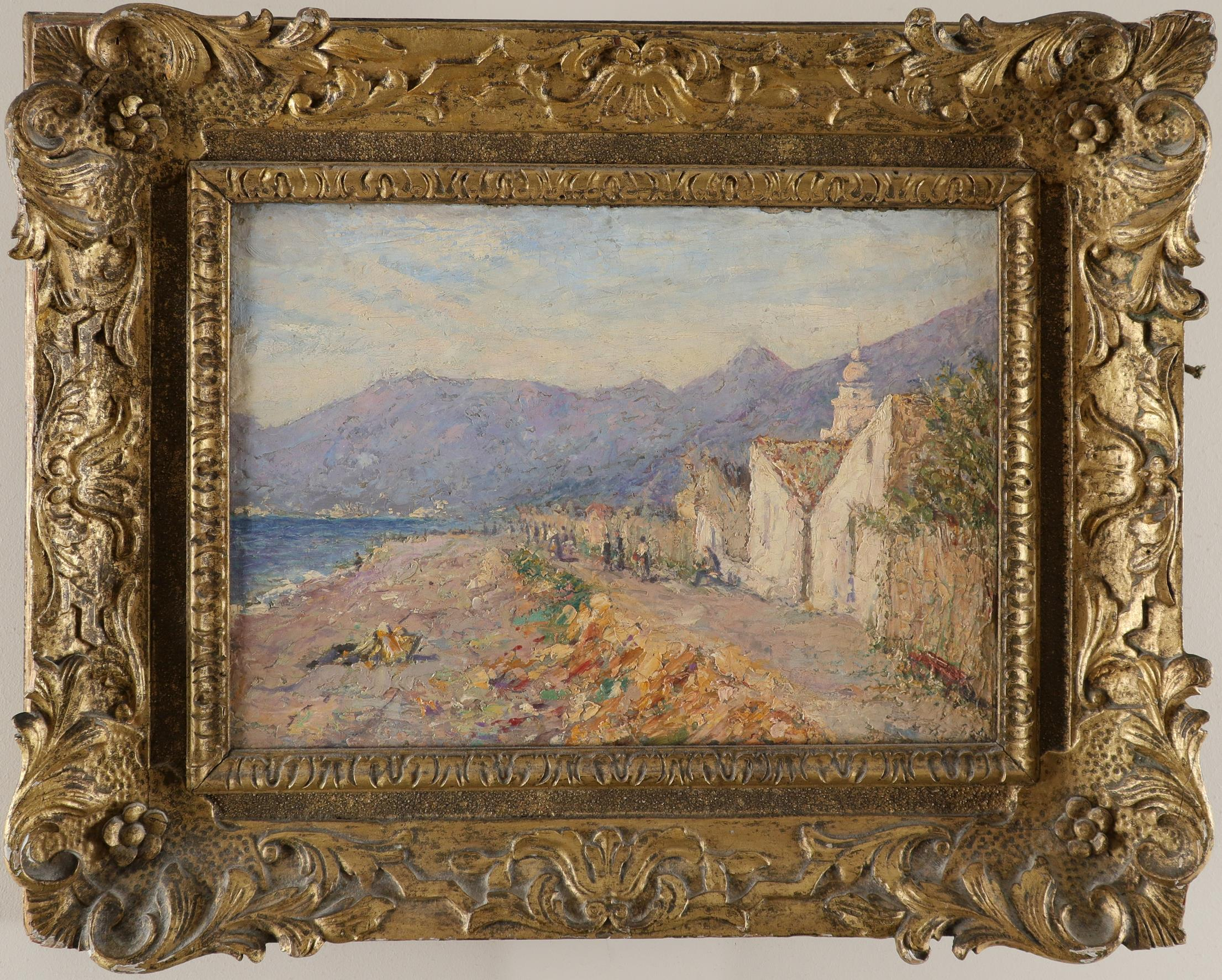 Continental School 20th Century A view of Kotor, Montenegro Oil on canvas 25.6 x 35.7cm - Image 2 of 3