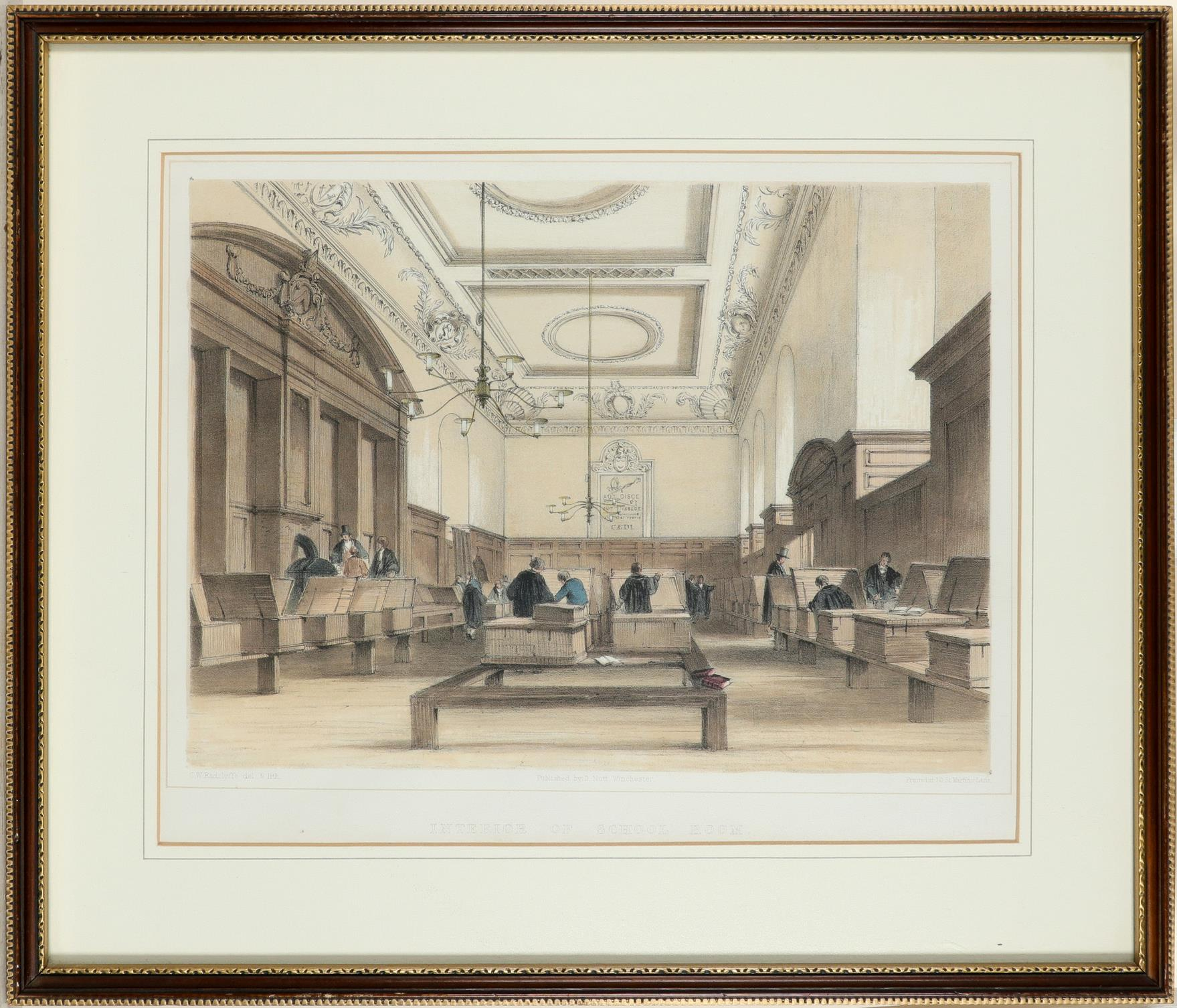 ‡Bernard Cecil Gotch (1876-1963) Old Cloister, Winchester College; School, Winchester College Two, - Image 7 of 12