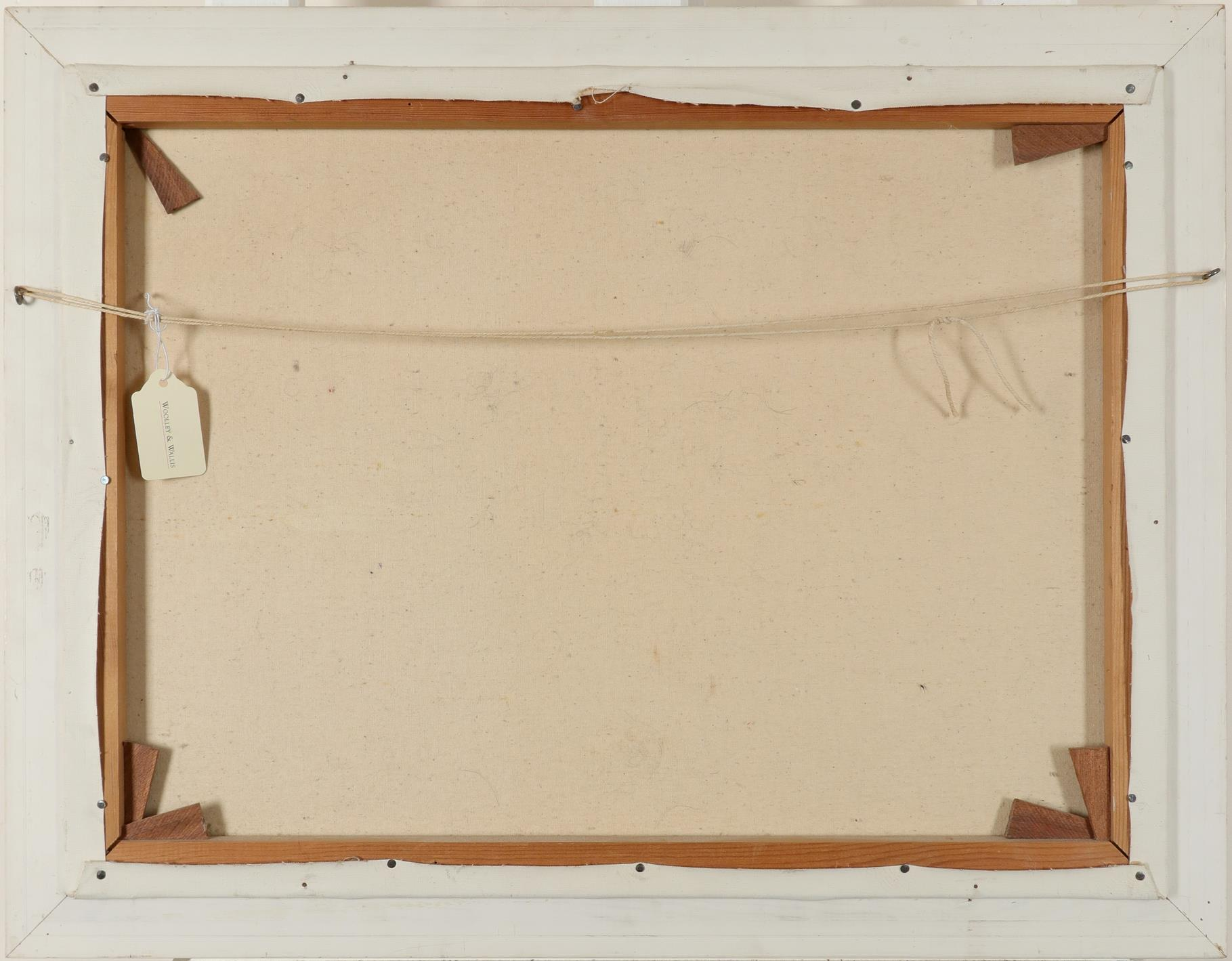 ‡Howard Devonald (20th Century) Landscape at dawn Signed Howard Devonald (lower left) Oil on - Image 3 of 3