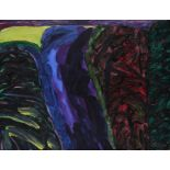 ‡William Crozier RA (1930-2011) Night Road Signed Crozier (lower right), and signed and dated