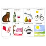 ‡Mary Fedden OBE, RA, RWA (195-2012) What Are You Like Signed and numbered Mary Fedden 27/50 (in