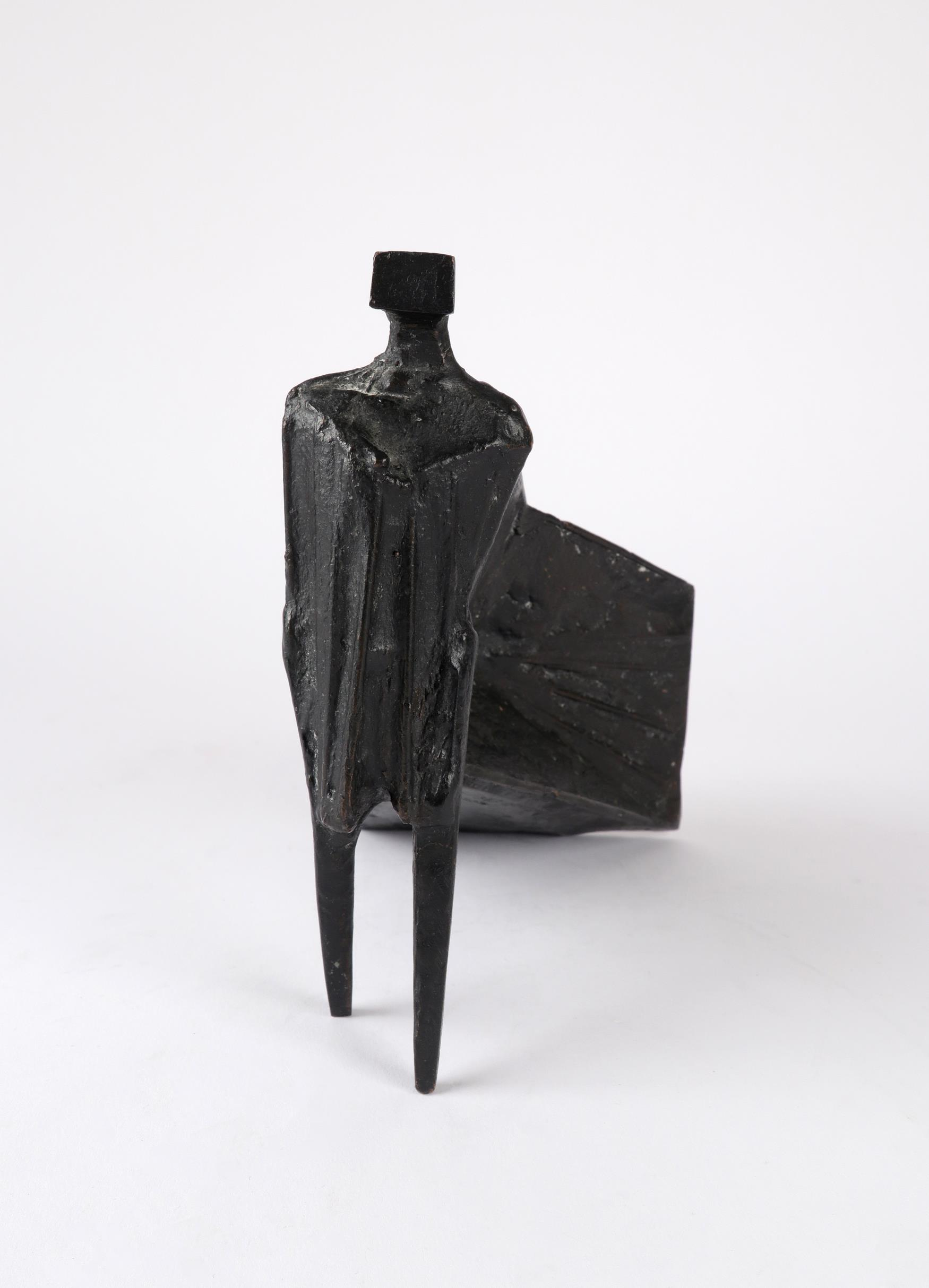 ‡Lynn Chadwick CBE, RA (1914-2003) Pair of Cloaked Figures III Each signed dated and numbered C/77/ - Image 7 of 22