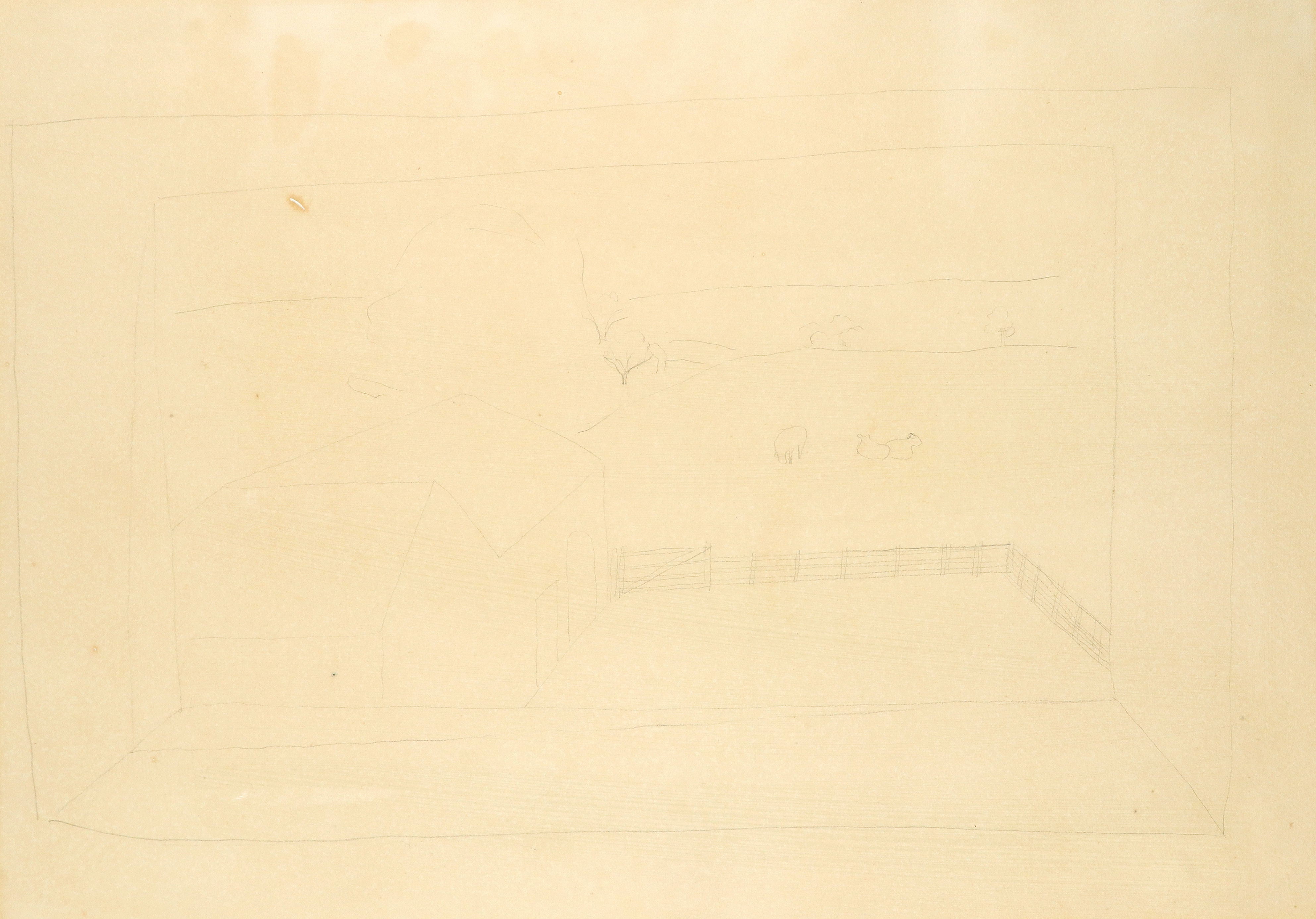 ‡Ben Nicholson OM (1894-1982) Banks Head, Cumberland Signed, dated and inscribed BANKSHEAD Ben