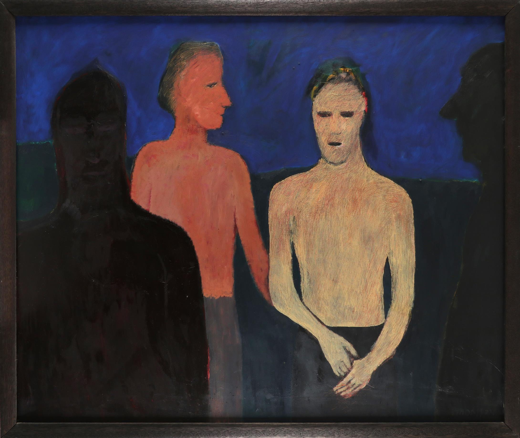 ‡Douglas Thomson (Scottish b.1955) Dawn Signed THOMSON (lower right) Oil on canvas 114.5 x 138cm - Image 2 of 3