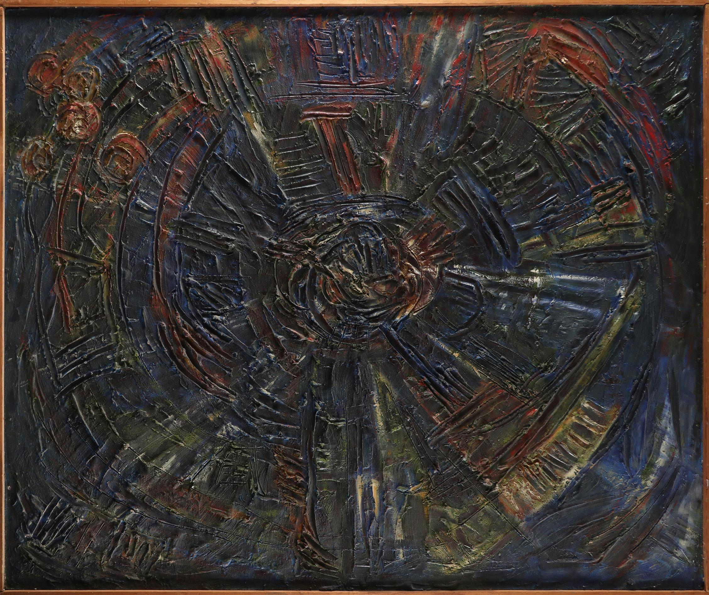 ‡Nina Hosali (1898-1987) Spiral State; Children of War Two, the former signed and dated Hosali/ - Image 3 of 6