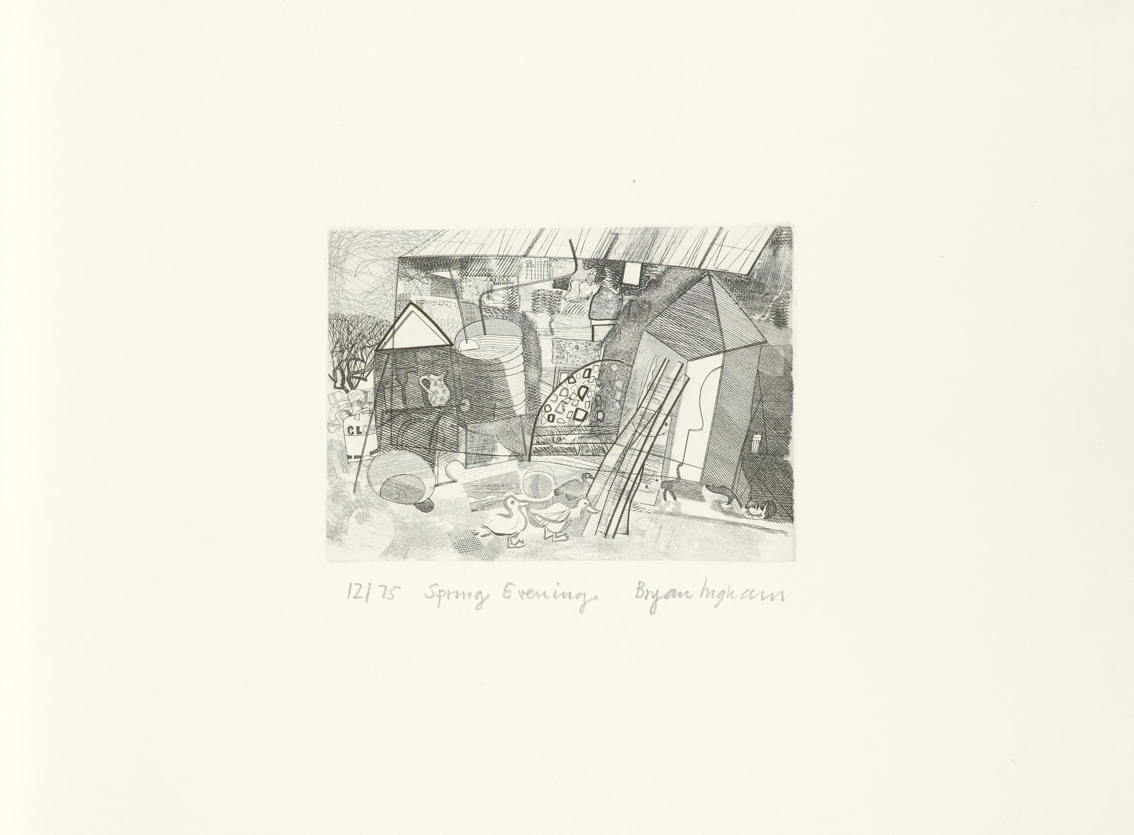 ‡Penwith Society of Arts Penwith Print Room Portfolio: A Spring Collection 10 prints plus title - Image 19 of 30