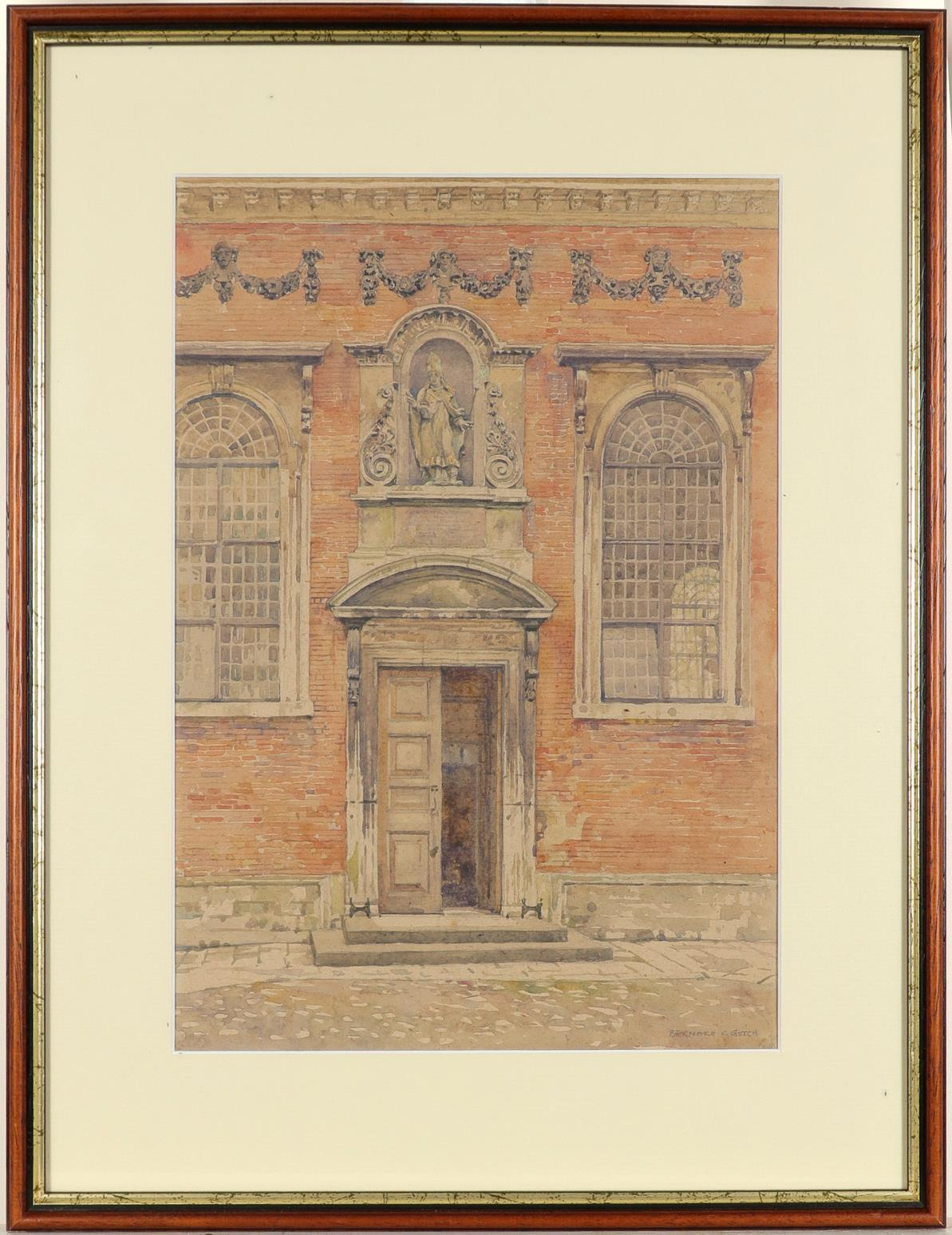 ‡Bernard Cecil Gotch (1876-1963) Old Cloister, Winchester College; School, Winchester College Two, - Image 6 of 12