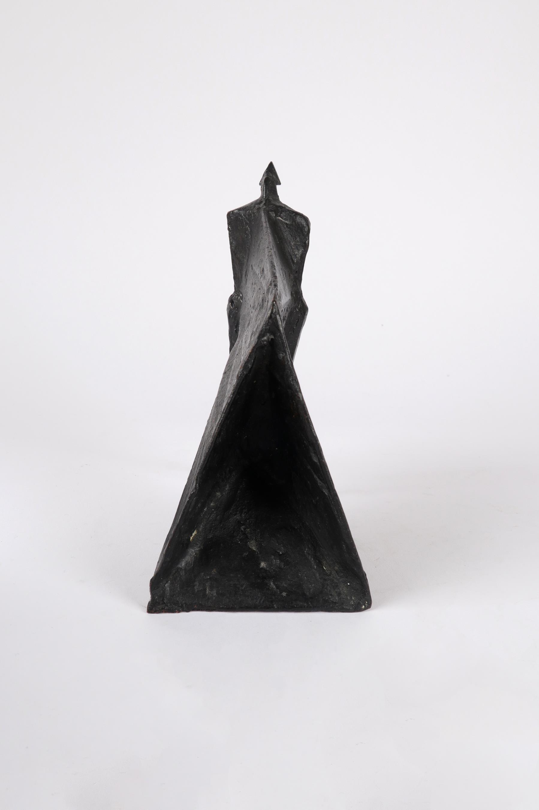 ‡Lynn Chadwick CBE, RA (1914-2003) Pair of Cloaked Figures III Each signed dated and numbered C/77/ - Image 5 of 22