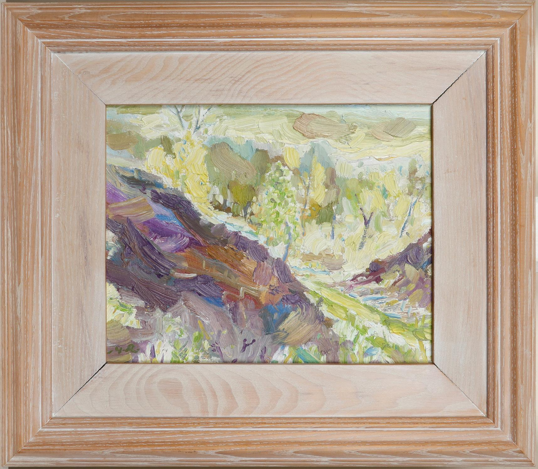 ‡Michael Paul Rainsford (Irish Contemporary) Birches, Farnhill Signed with initials M.R. (lower - Image 2 of 3