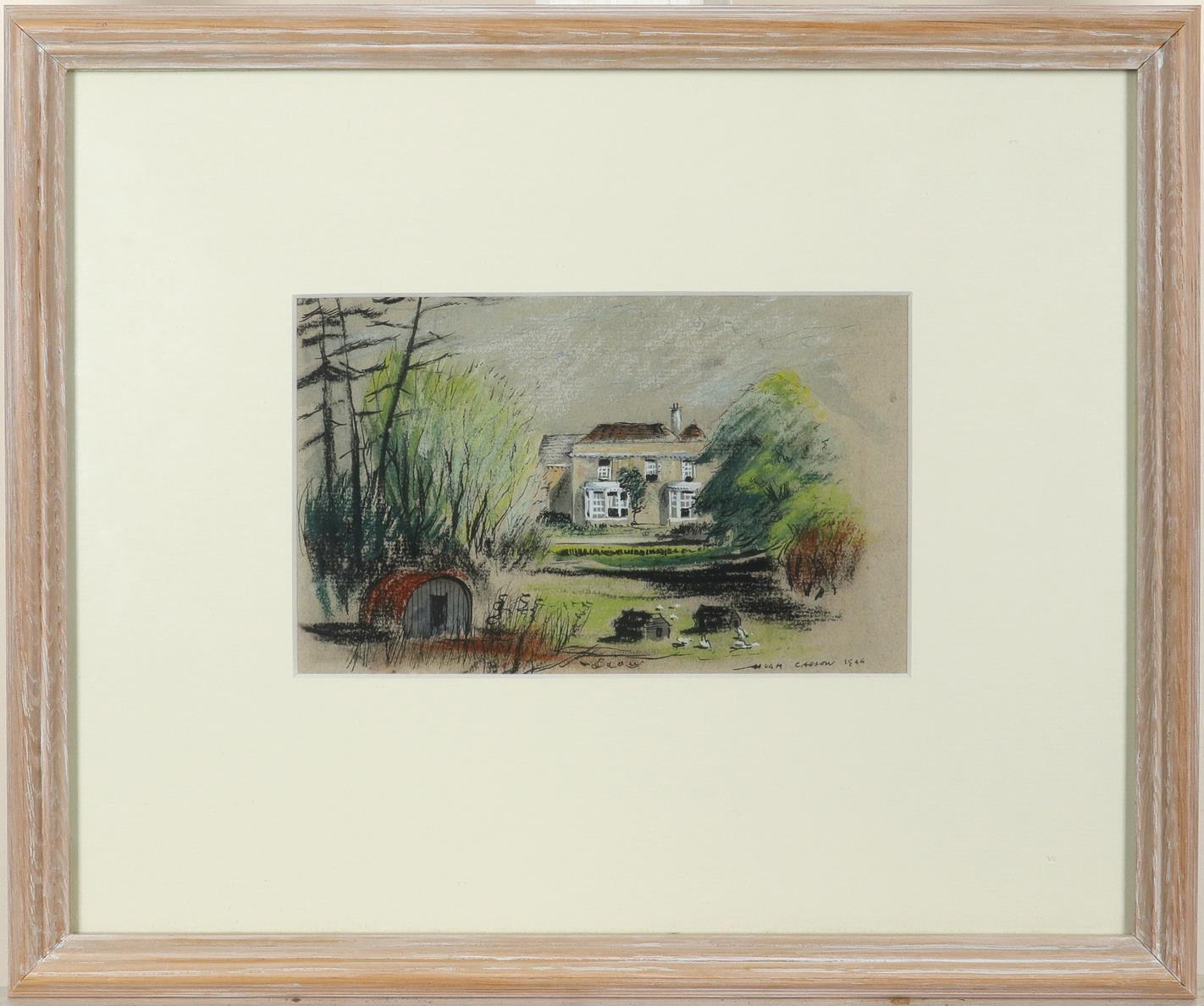 ‡Sir Hugh Casson CH, KKCVO, PRA, RDI (1910-1999) Anderson shelter; Broadwalk, Rivington Garden - Image 3 of 6