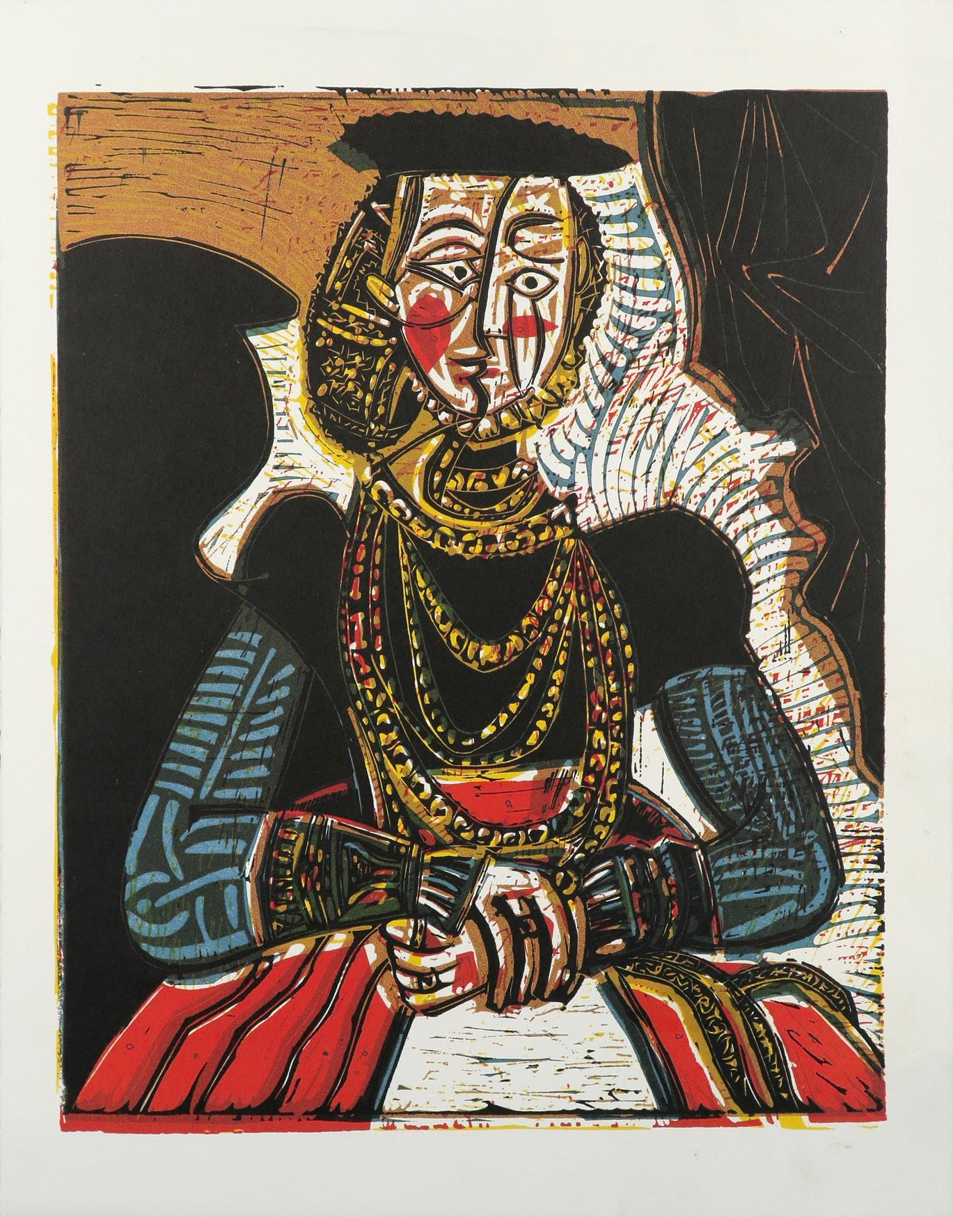 ‡After Pablo Picasso Portrait of a Woman after Cranach the Younger; and 17 others Eighteen,