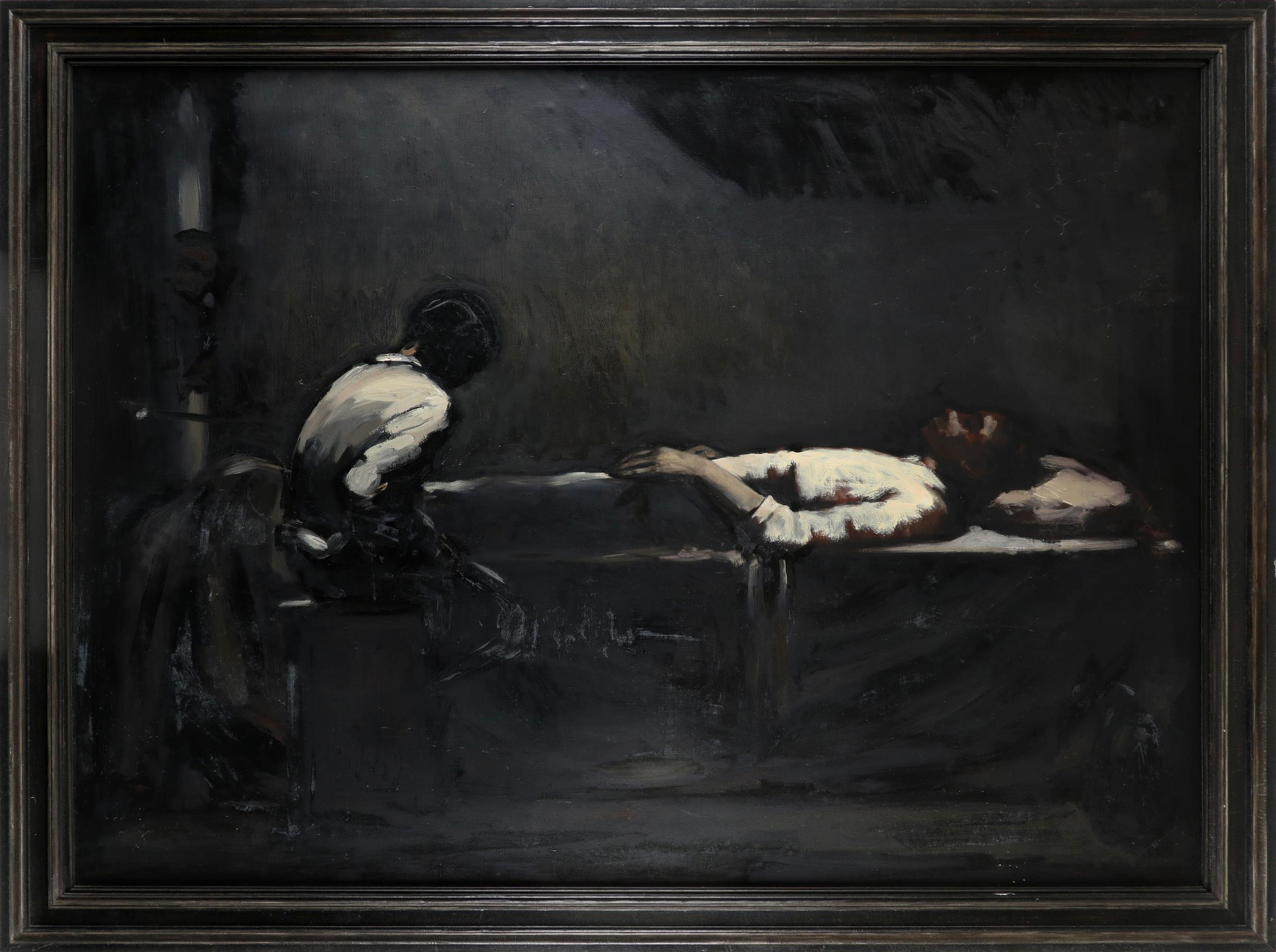 ‡Andrew Gadd (b.1968) 27th November 1993 Oil on canvas 118 x 184.5cm Provenance: Agnew's, London; - Image 2 of 3