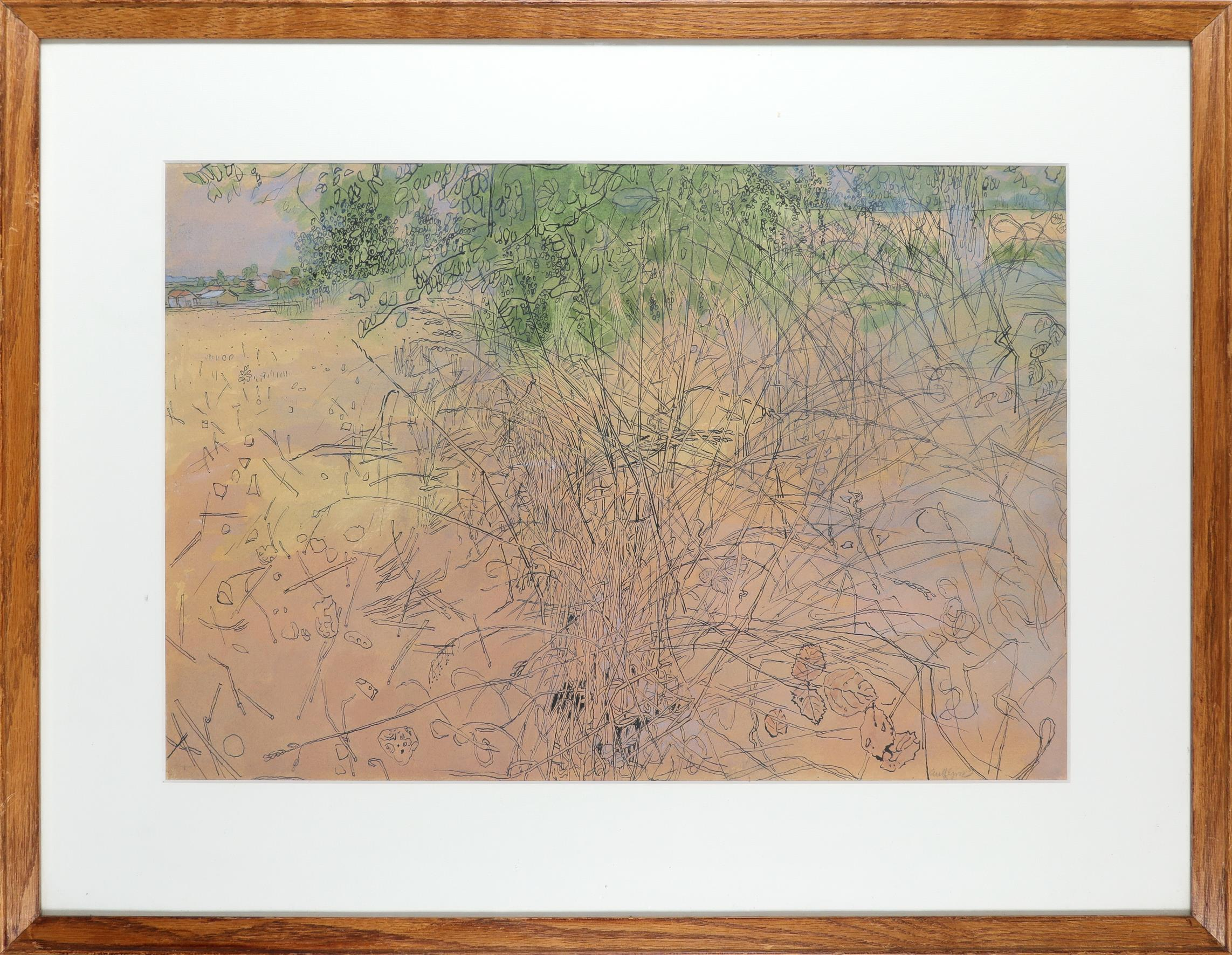 ‡Anthony Gross CBE, RA (1905-1984) The thicket Signed anyGross (lower right) Watercolour and pen and - Image 2 of 3