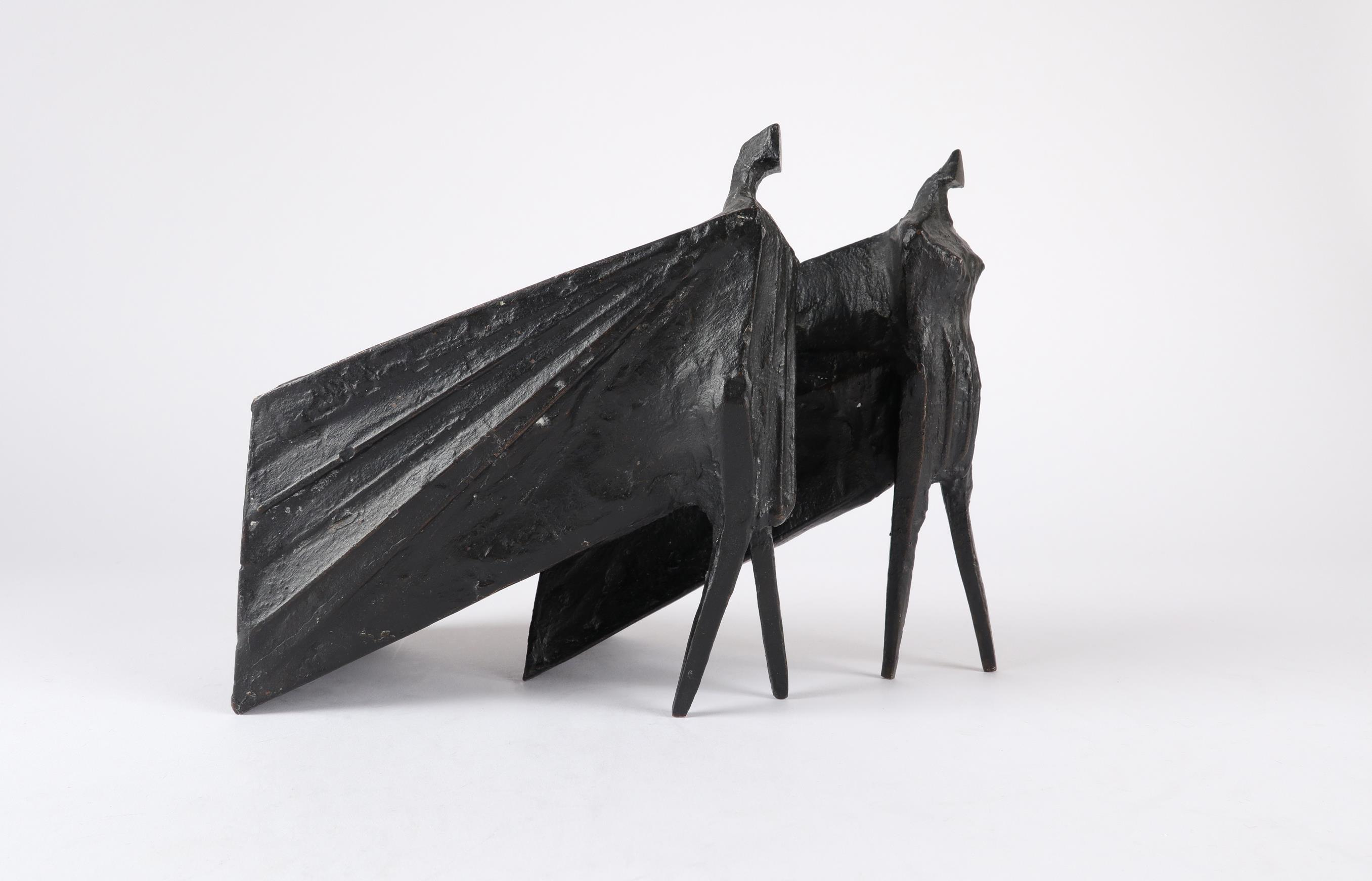 ‡Lynn Chadwick CBE, RA (1914-2003) Pair of Cloaked Figures III Each signed dated and numbered C/77/ - Image 22 of 22