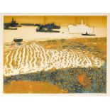 ‡Charles Bartlett (1921-2014) Ships at Anchor; Evening Anchorage Two, the former signed, numbered