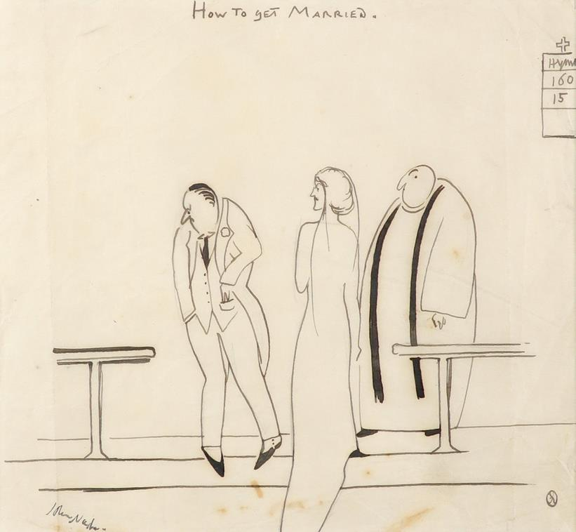 ‡John Nash CBE, RA (1893-1977) Horse play; How To Get Married Two, the latter signed John Nash ( - Image 2 of 6