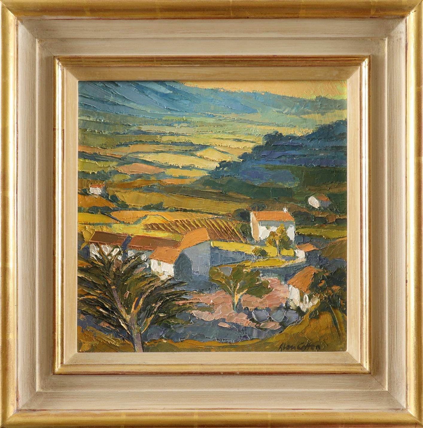 ‡Alan Cotton (b.1938) Provence - Valley Farm Signed Alan Cotton (lower right) Oil on canvas 31 x - Image 2 of 3