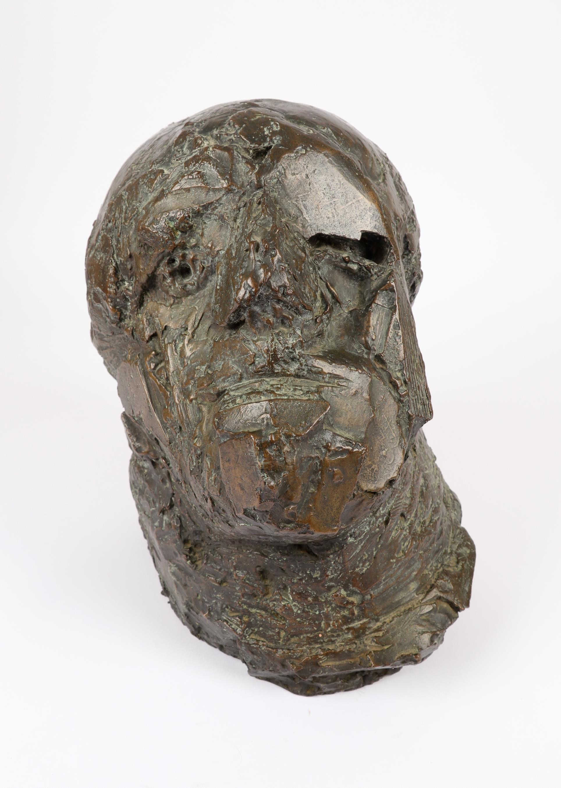 ‡Dame Elisabeth Frink CH, DBE, RA (1930-1993) Soldier Signed and numbered Frink/5/6 Bronze, 1963 - Image 2 of 8