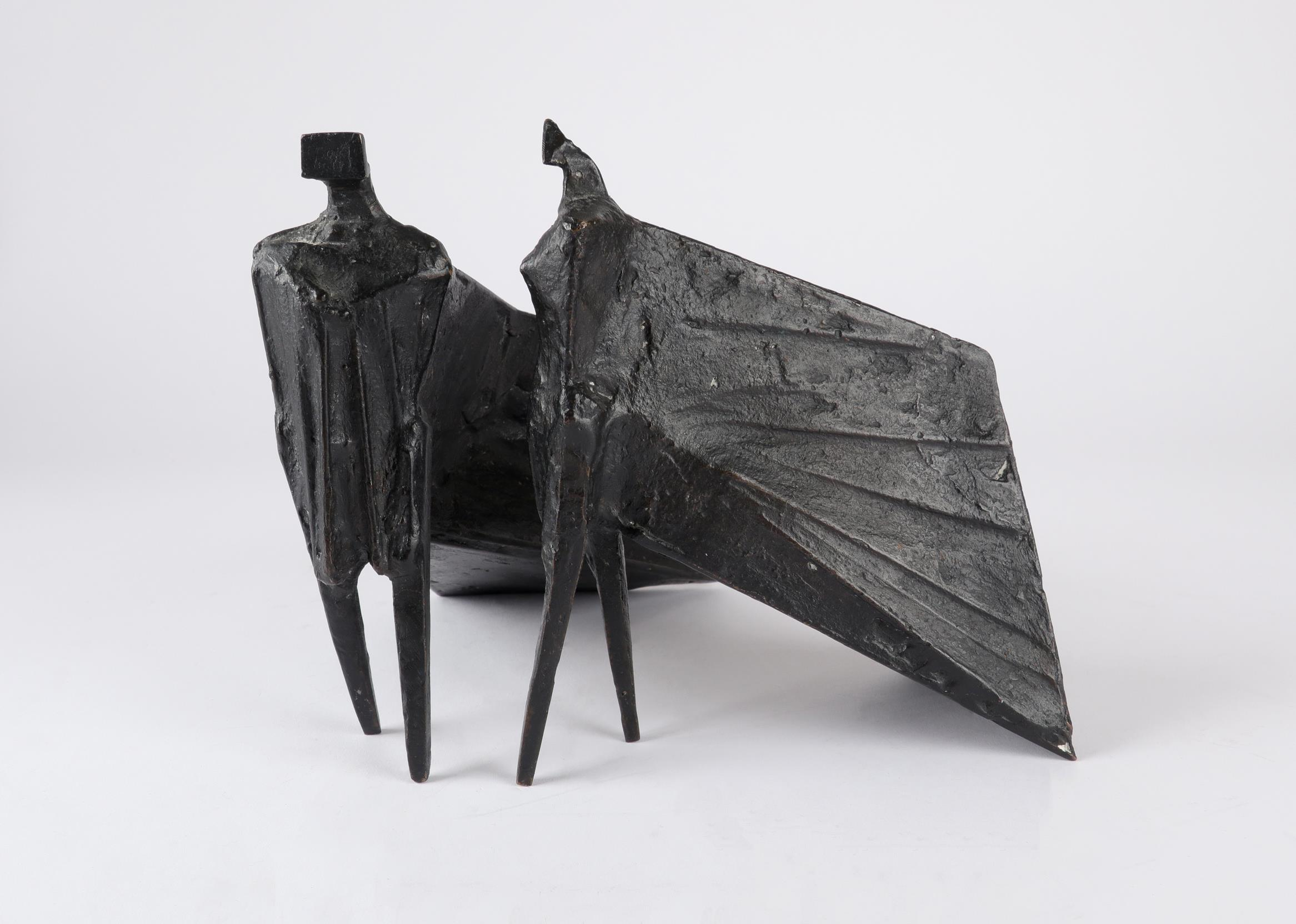 ‡Lynn Chadwick CBE, RA (1914-2003) Pair of Cloaked Figures III Each signed dated and numbered C/77/ - Image 19 of 22