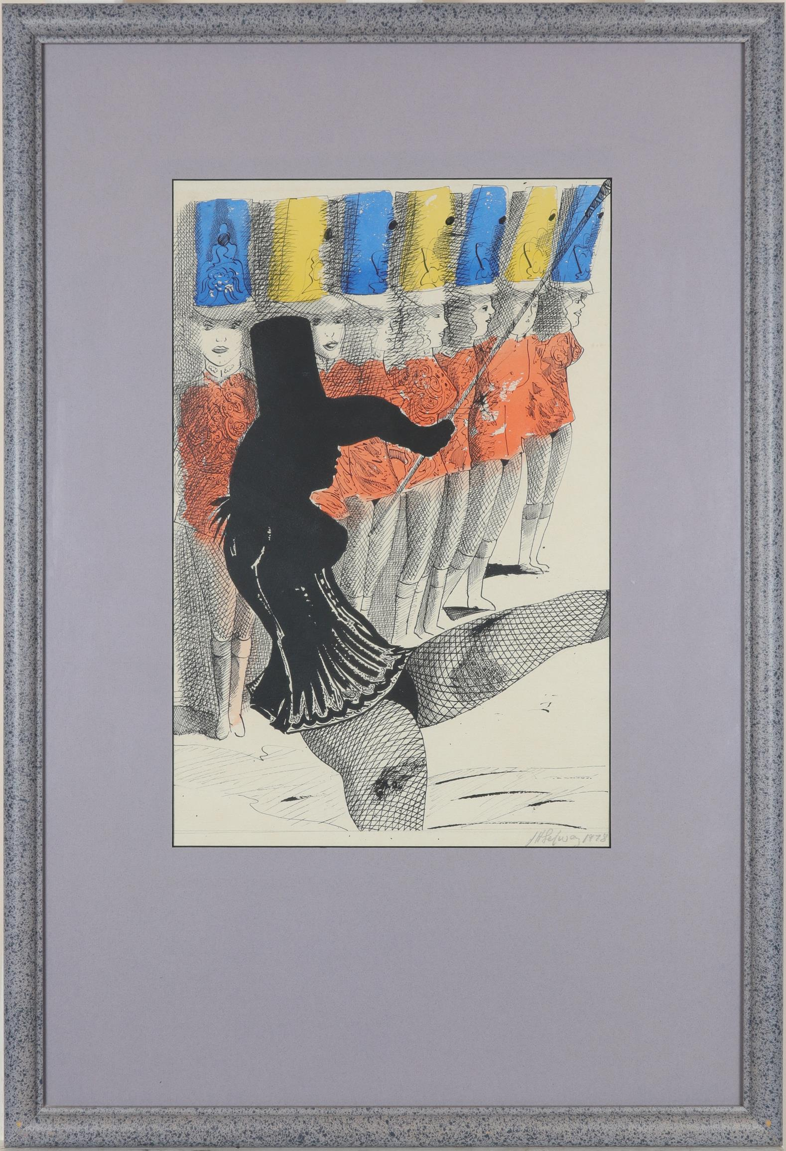 ‡John Selway (Welsh 1938-2017) Carnival Signed and dated J H Selway 1978 (lower right) - Image 2 of 3