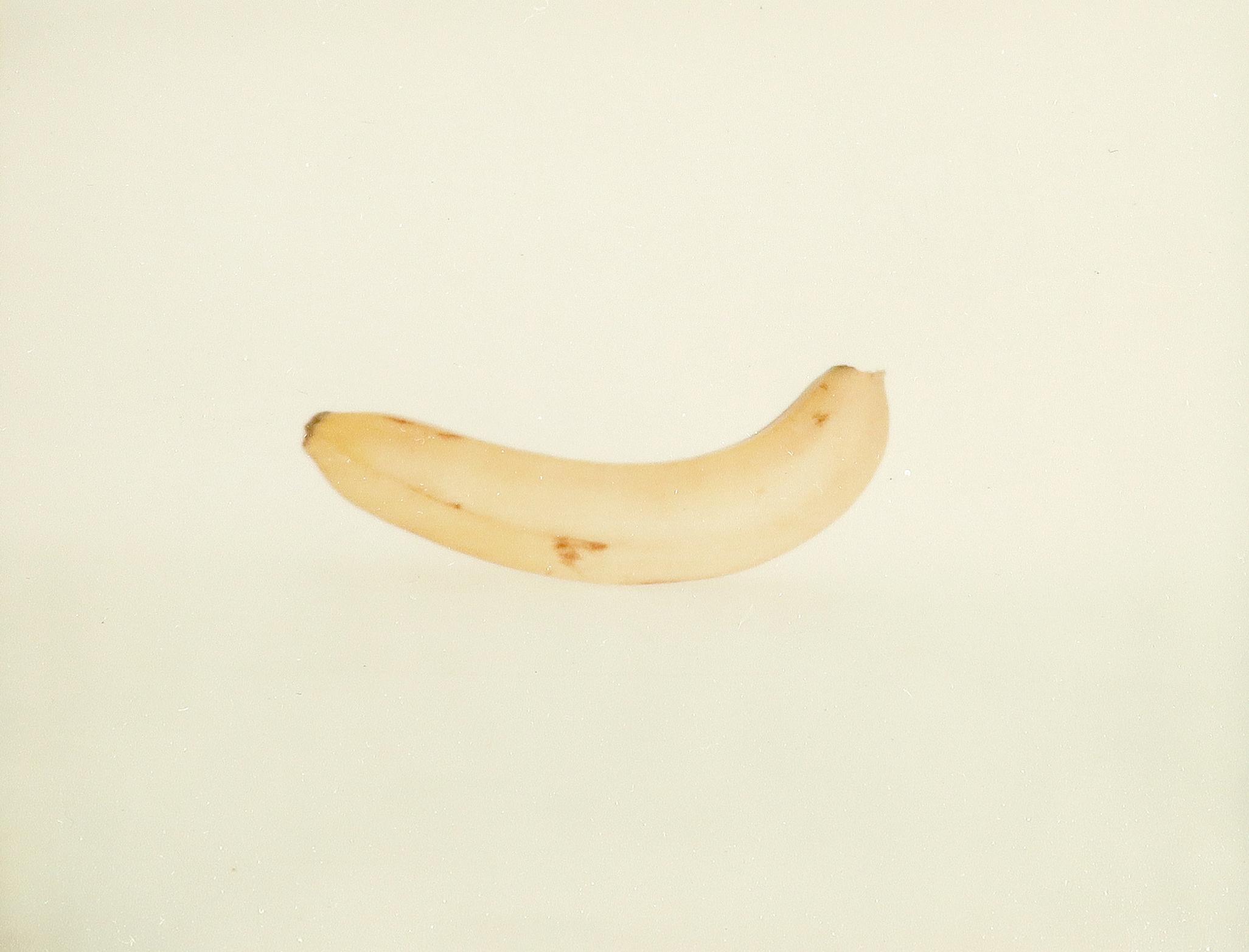 Andy Warhol (American 1928-1987) Banana Polaroid photograph, no. FA09.01849, 1977-78 8.2 x 10.5cm