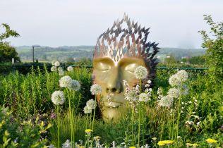 £500 will fund a Sculpture Exhibition in one garden.