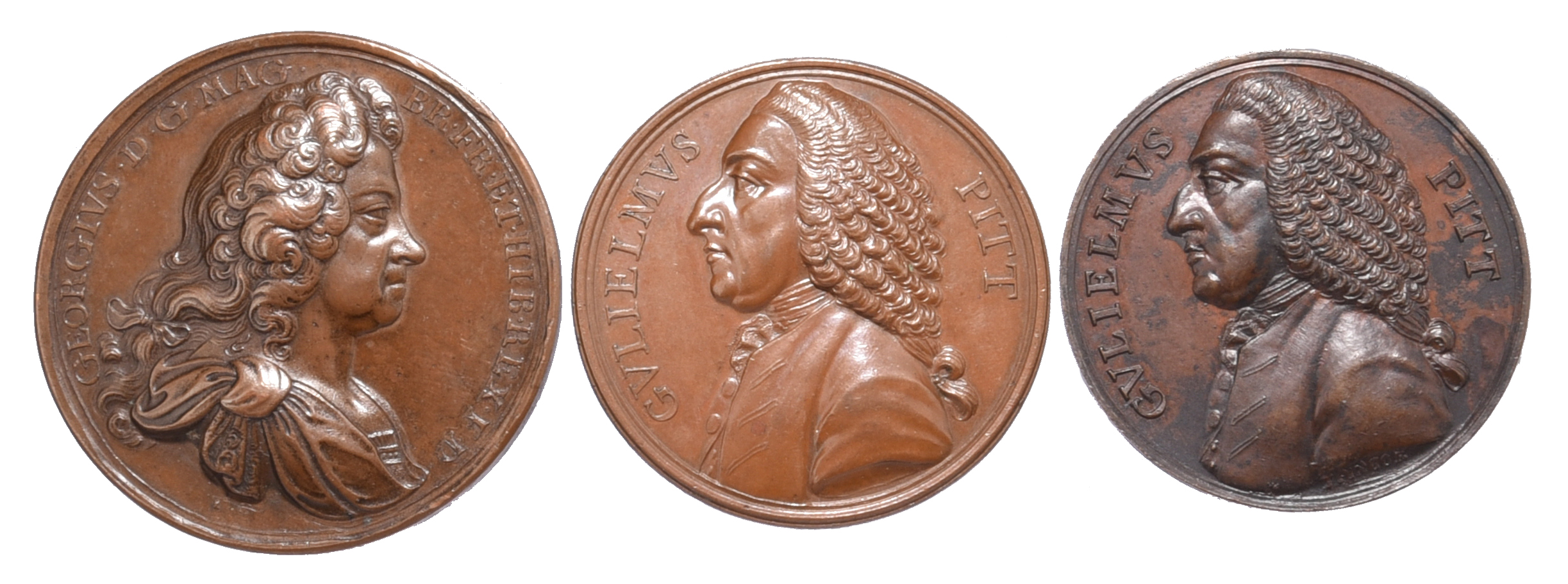 Great Britain: political commemorative medals (3): Act of Grace and Free Pardon 1717, AE, 45 mm,