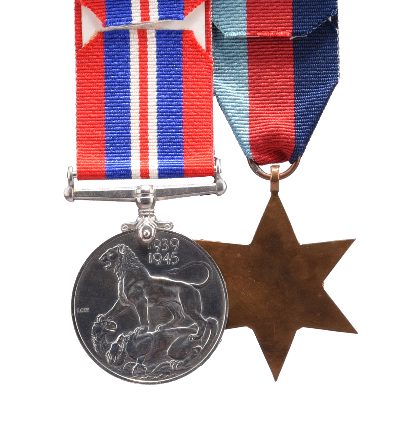 Two medals attributable to Cadet David Arthur Edward Stewart-Cox, Royal Navy, who was lost at sea - Image 2 of 2