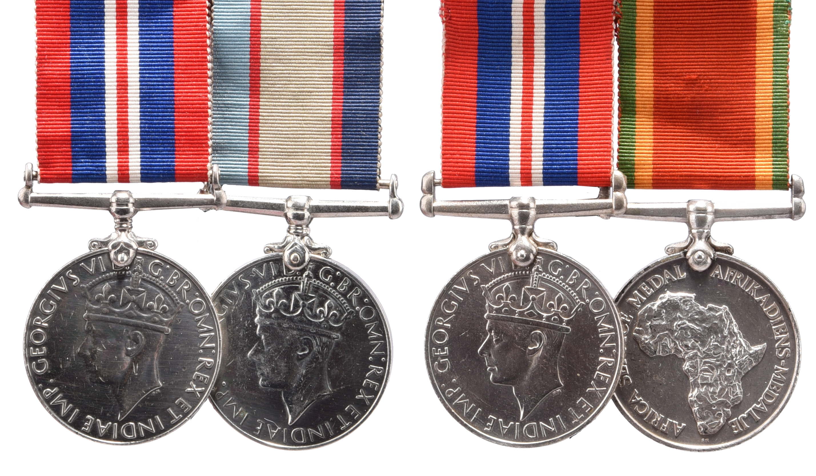 Two Medals to Private Dorothy Jean Mousley, Australian Army: War Medal 1939-45, Australia Service
