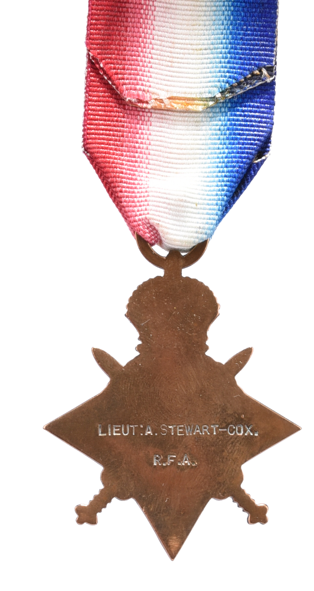 The Great War P.O.W. group of four medals to Captain (later Lieutenant-Colonel) Arthur Stewart- - Image 6 of 7