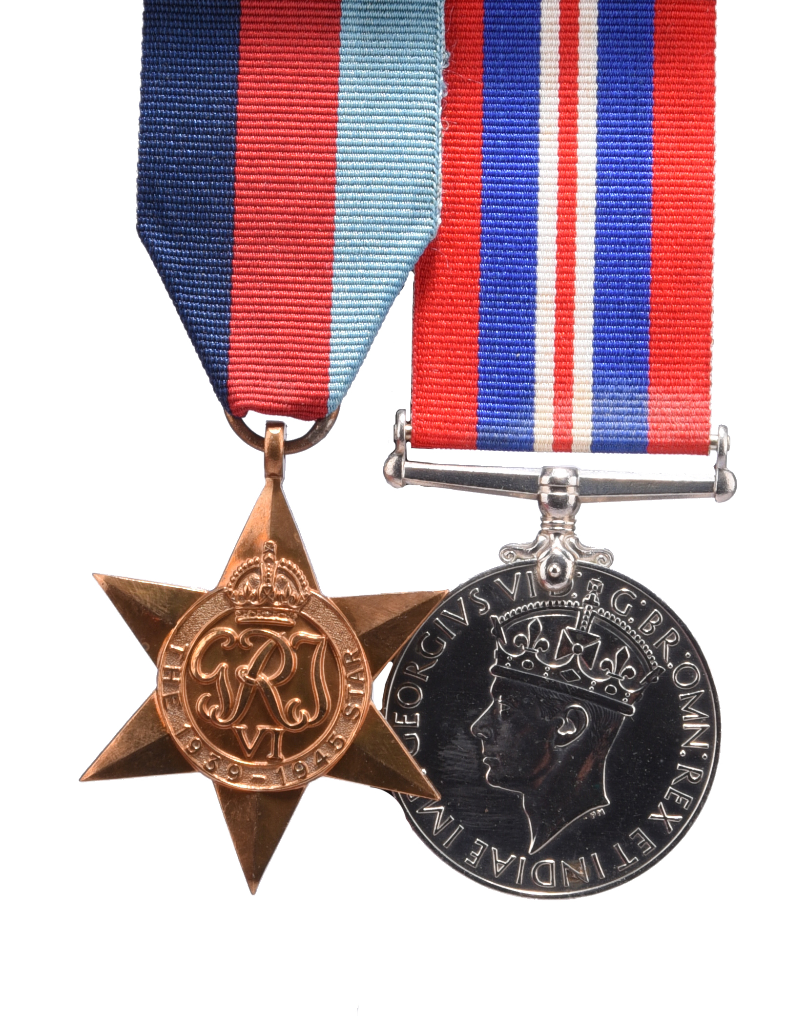 Two medals attributable to Cadet David Arthur Edward Stewart-Cox, Royal Navy, who was lost at sea