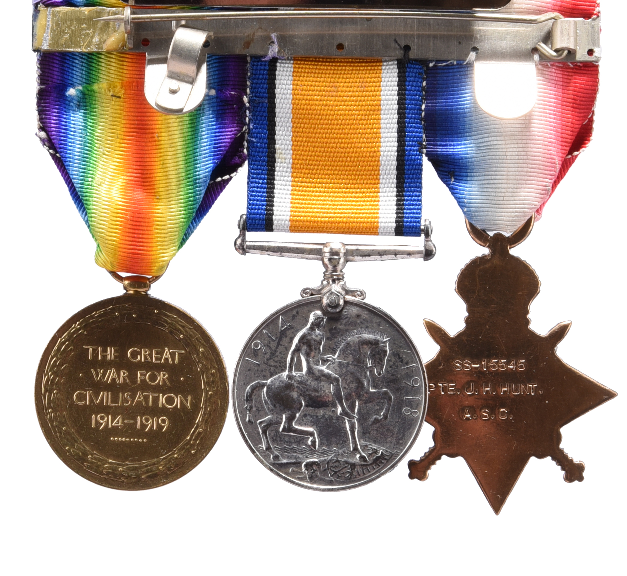 A Great War casualty Mercantile Marine War Medal to Frank Axel Rodman, S S Mordenwood (Frank A. - Image 2 of 3