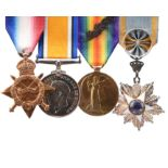 The Order of the Nile group of four medals to Major Edward George Kekewich Sinclair May, City of