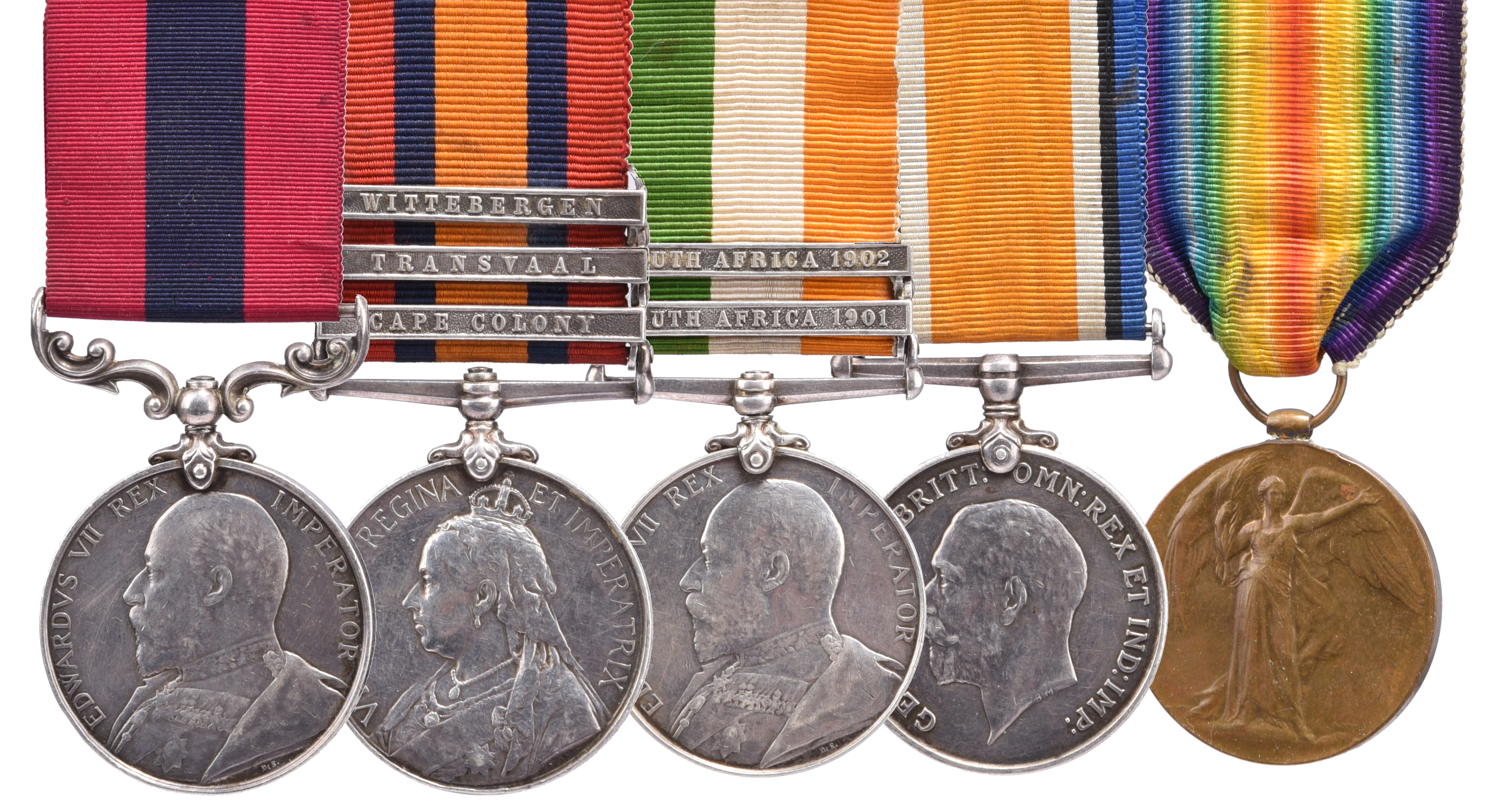 A Boer War D.C.M. group to Warrant Officer 1st Class Thomas Mahon, Royal Artillery: Distinguished