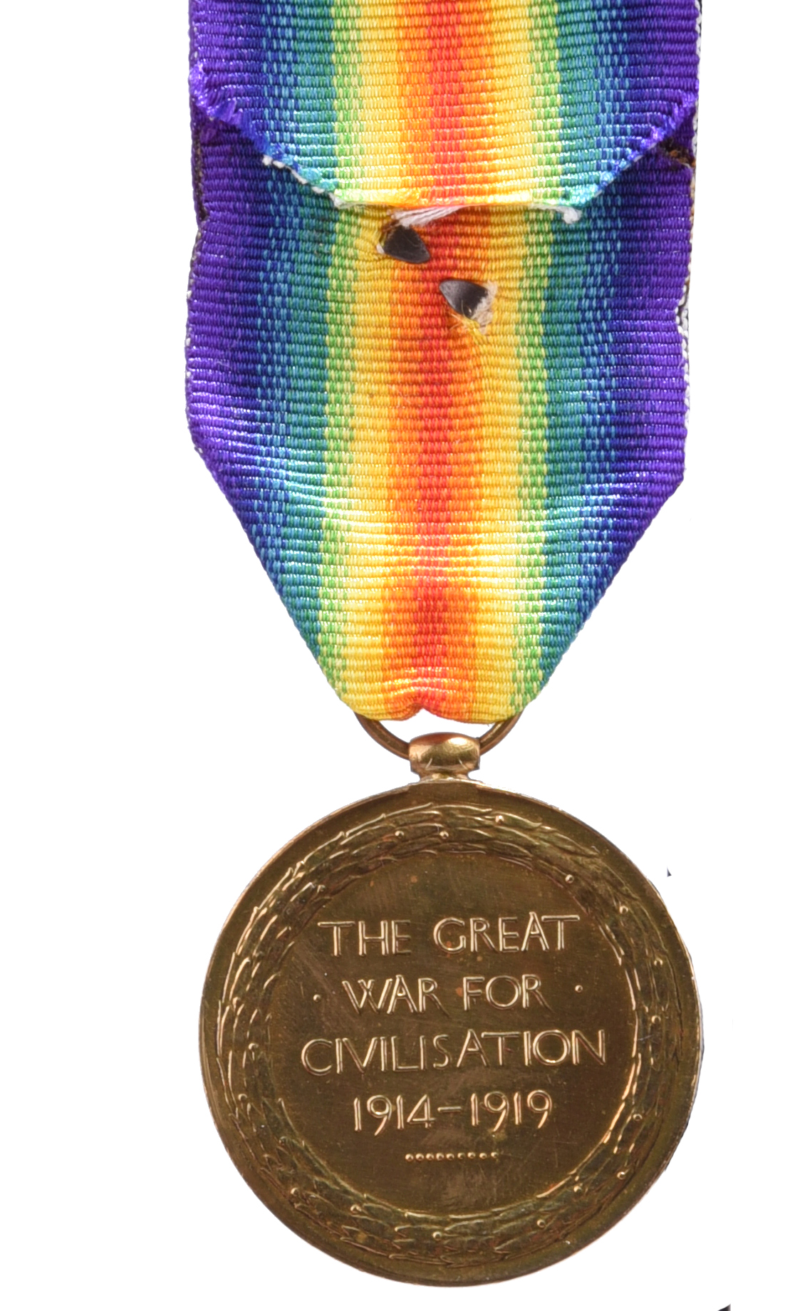 The Great War P.O.W. group of four medals to Captain (later Lieutenant-Colonel) Arthur Stewart- - Image 4 of 7