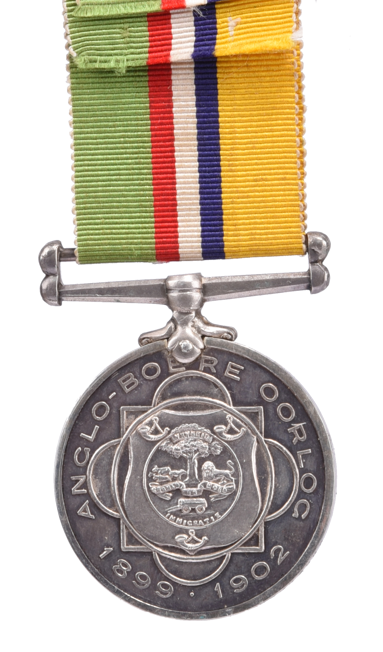 South Africa: Anglo-Boere Oorlog Medal, KORPORAAL A.C. NUNES., good extremely fine. - Image 2 of 2