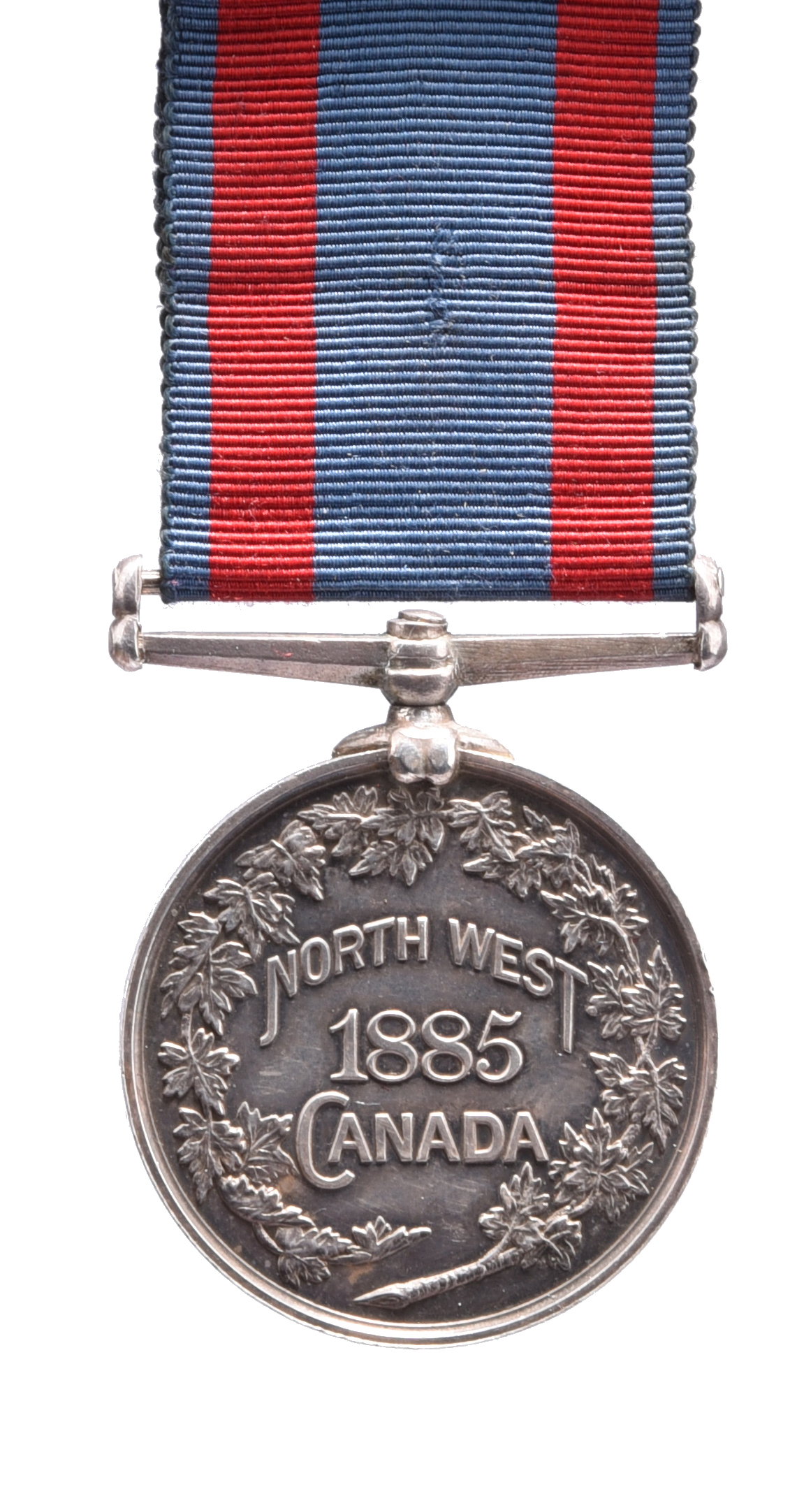 A North West Canada Medal 1885, no clasp, unnamed as issued, very fine, reverse significantly - Image 2 of 2