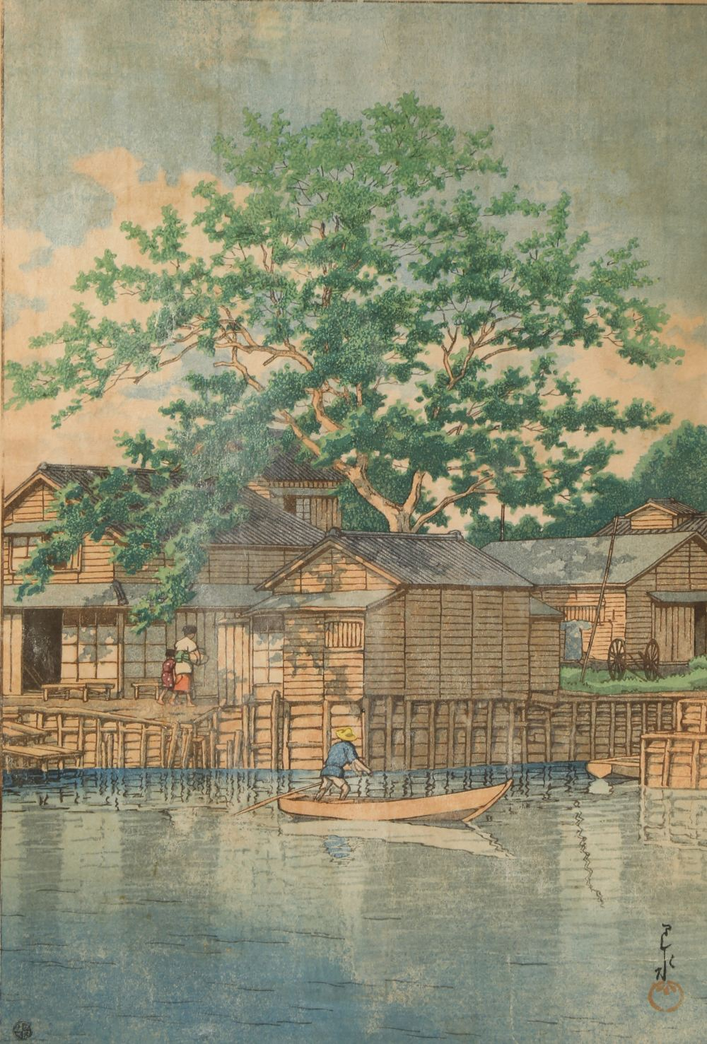 HASUI KAWASE (1883-1957) SHOWA ERA OR LATER, 1926 OR LATER A woodblock print on paper, entitled