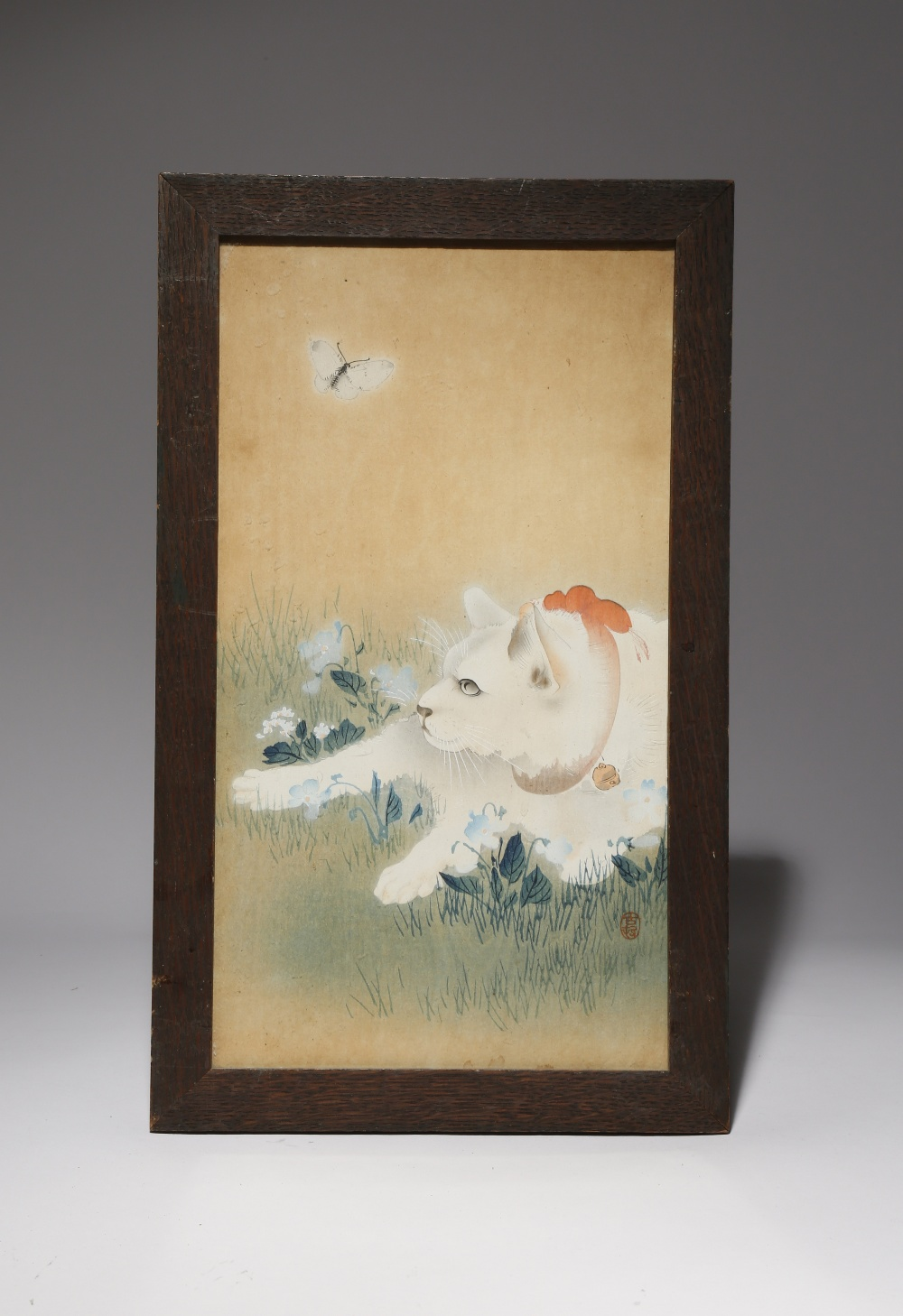 A SMALL COLLECTION OF FOUR JAPANESE PRINTS MEIJI PERIOD OR LATER, 19TH OR 20TH CENTURY One depicting - Image 3 of 4
