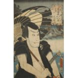A COLLECTION OF TWELVE JAPANESE WOODBLOCK PRINTS BY UTAGAWA KUNISADA (1786-1864) MEIJI PERIOD,